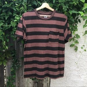 NSF striped pocket T-shirt